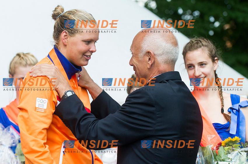 Podium<br /> Hoorn, Netherlands <br /> LEN 2016 European Open Water Swimming Championships <br /> Open Water Swimming<br /> Women's 5km<br /> Day 02 12-07-2016<br /> Photo Giorgio Perottino/Deepbluemedia/Insidefoto