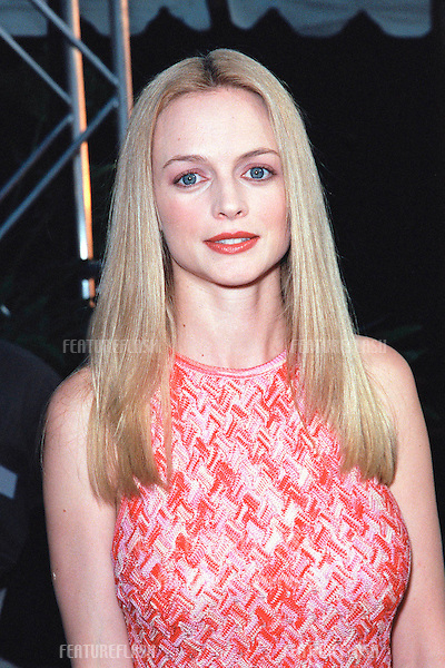 "10AUG99: Actress HEATHER GRAHAM at the Los Angeles premiere of her new movie ""Bowfinger"" in which she stars with Eddie Murphy & Steve Martin..© Paul Smith / Featureflash"
