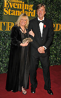 Judy Finnigan and Richard Madeley at the London Evening Standard Theatre Awards 2016, The Old Vic, The Cut, London, England, UK, on Sunday 13 November 2016. <br /> CAP/CAN<br /> &copy;CAN/Capital Pictures /MediaPunch ***NORTH AND SOUTH AMERICAS ONLY***