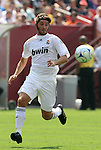 09 August 2009: Real Madrid's Esteban Granero (ESP). Real Madrid of Spain's La Liga defeated DC United of Major League Soccer 3-0 at FedEx Field in Landover, Maryland in an international club friendly soccer match.