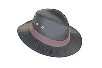 ZH150 Rambler Wax Trilby Hat, Olive.