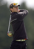 20 May, 2010:  University of Nebraska's Brandon Crick drives the ball off the tee on hole one of the NCAA Division I Regionals tournament Thursday at Gold Mountain Golf Course in Bremerton, WA.