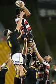 Taiasina Tuifua claims lineout ball. Air New Zealand Cup rugby game between Counties Manukau Steelers & Wellington played at Mt Smart Stadium on the 31st August 2007. The Score was 13 all at halftime, with Wellington going on to win 33 - 18.