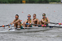 Amsterdam, NETHERLANDS, AUS BLM4-,  2011 FISA U23 World Rowing Championships, Wednesday, 20/07/2011 [Mandatory credit:  Intersport Images]