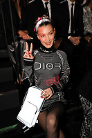Bella Hadid in the front row<br /> Dior Homme show, Front Row, Pre Fall 2019, Tokyo, Japan - 30 Nov 2018<br /> CAP/SAT<br /> &copy;Satomi Kokubun/Capital Pictures