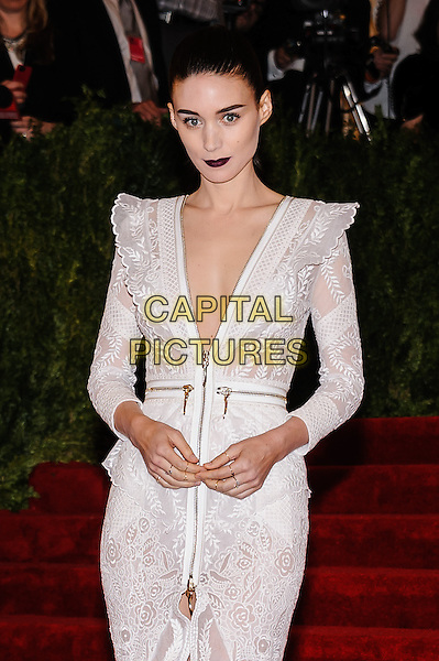 Rooney Mara.'PUNK: Chaos To Couture' Costume Institute Gala at the Metropolitan Museum of Art, New York, USA  6th May 2013.CAP/ADM/CS.©Christopher Smith/AdMedia/Capital Pictures