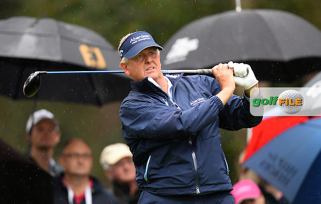 Colin Montgomerie of Scotland in action during the Second Round of The Senior Open at Sunningdale Golf Club, Sunningdale, England. Picture: Golffile | Richard Martin-Roberts<br /> All photo usage must carry mandatory copyright credit (&copy; Golffile | Richard Martin- Roberts)