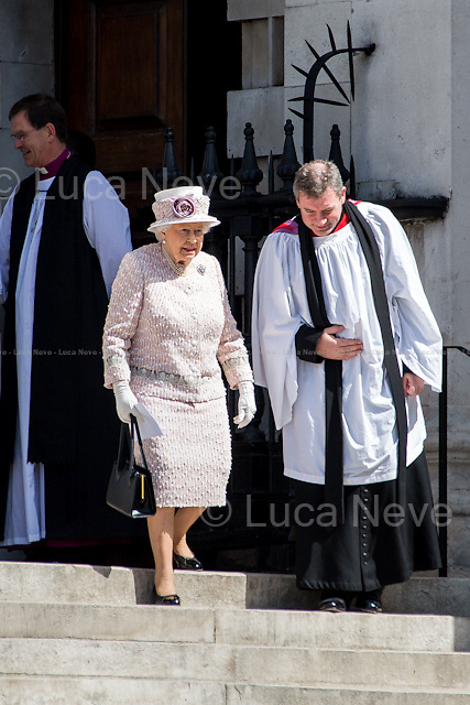 Her Majesty the Queen Elizabeth II.<br />