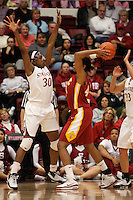 STANFORD, CA - JANUARY 29:  Nnemkadi Ogwumike of the Stanford Cardinal during Stanford's 81-53 win over the USC Trojans on January 29, 2009 at Maples Pavilion in Stanford, California.