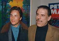 1993 <br /> Don Johnson, Peter Max<br /> Photo By John Barrett-PHOTOlink.net/MediaPunch
