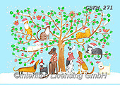 Kate, CUTE ANIMALS, LUSTIGE TIERE, ANIMALITOS DIVERTIDOS, paintings+++++Family Christmas tree,GBKM271,#ac#, EVERYDAY ,dogs,dog ,puzzle,puzzles