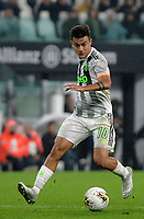 30th October 2019; Allianz Stadium, Turin, Italy; Serie A Football, Juventus versus Genoa; Paulo Dybala of Juventus on the ball - Editorial Use