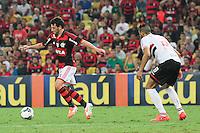 RIO DE JANEIRO, 18.05.2014 - Elano do Flamengo durante o jogo contra São Paulo pela quinta rodada do Campeonato Brasileiro disputado neste domingo no Maracanã. (Foto: Néstor J. Beremblum / Brazil Photo Press)