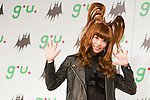 September 5, 2012, Tokyo, Japan - Japanese artist Kyary Pamyu Pamyu poses on stage during a press conference as she is the new image character for the fashion brand g.u.'s upcoming 2012 fall/winter season. (Photo by Christopher Jue/AFLO)