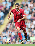 Liverpool's Emre Can in action during the premier league match at the Etihad Stadium, Manchester. Picture date 9th September 2017. Picture credit should read: David Klein/Sportimage
