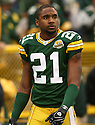 CHARLES WOODSON, of the Green Bay Packers, in action during the Packers games against the Washington Redskins, in Green Bay, Wisconsin on October 14, 2007.  ..The Packers won the game 17-14...COPYRIGHT / SPORTPICS..........