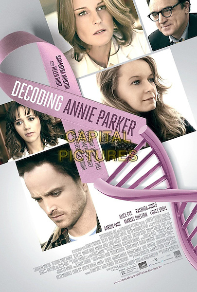 POSTER ART<br /> in Decoding Annie Parker (2013) <br /> *Filmstill - Editorial Use Only*<br /> CAP/FB<br /> Image supplied by Capital Pictures