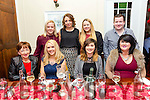 Denise Drumm, Manor Tralee, celebrating her 35th birthday with family and friends at Denny Lane on Saturday Pictured Mary Fitzgerald, Denise Drumm, Carmel Drumm, Paula Drumm. Back l-r Grace Healy, Norelle Mansfield, Eimear O'Connor, Michael O'Connor,