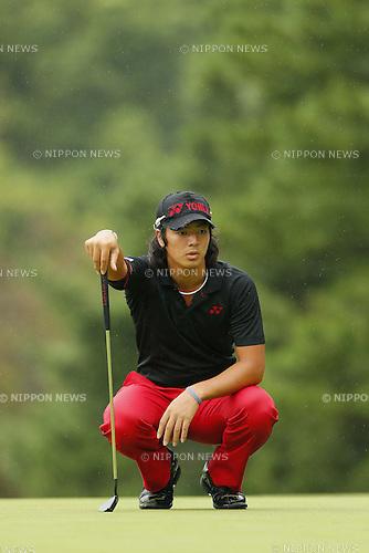 Ryo Ishikawa, OCTOBER 7, 2012 - Golf : Canon Open Golf Tournament Final Round at Totsuka Country Club, Kanagawa, Japan. (Photo by AFLO SPORT) [1156]