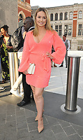 Ola Jordan at the Syco summer party, Victoria and Albert Museum, Cromwell Road, London, England, UK, on Thursday 04th July 2019.<br /> CAP/CAN<br /> ©CAN/Capital Pictures