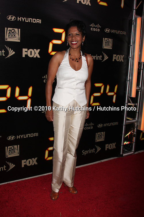 """Penny Johnson Jerald .arrives at the """"24"""" Series Finale Party .Boulevard3.Los Angeles, CA.April 30, 2010.©2010 Kathy Hutchins / Hutchins Photo..."""