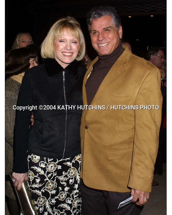 ©2004 KATHY HUTCHINS / HUTCHINS PHOTO.CHICAGO, THE MUSICAL.HOLLYWOOD OPENING NIGHT , PANTAGES THEATRE.LOS ANGELES, CA.JANUARY 8, 2004..DICK GAUTIER AND WIFE