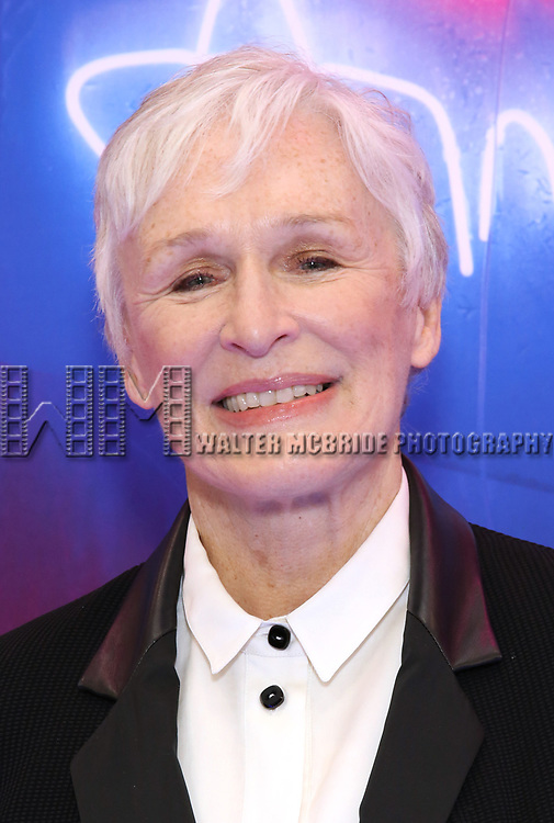 """Glenn Close attends the Broadway Opening Night Arrivals for """"Angels In America"""" - Part One and Part Two at the Neil Simon Theatre on March 25, 2018 in New York City."""