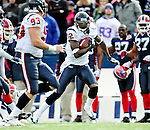 1 November 2009: Houston Texans' wide receiver Jacoby Jones in action against the Buffalo Bills at Ralph Wilson Stadium in Orchard Park, New York, United States of America. The Texans defeated the Bills 31-10. Mandatory Credit: Ed Wolfstein Photo