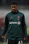 De Oliveira Wesley of Juventus during the Coppa Italia match at Giuseppe Meazza, Milan. Picture date: 13th February 2020. Picture credit should read: Jonathan Moscrop/Sportimage