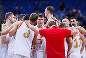 7th September 2017, Fenerbahce Arena, Istanbul, Turkey; FIBA Eurobasket Group D; Russia versus Great Britain; Russian players celebrate the victory after the match