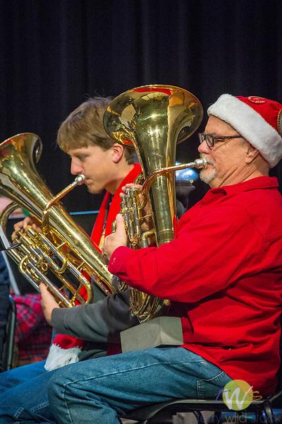 Connecticut Tuba Christmas concert band.
