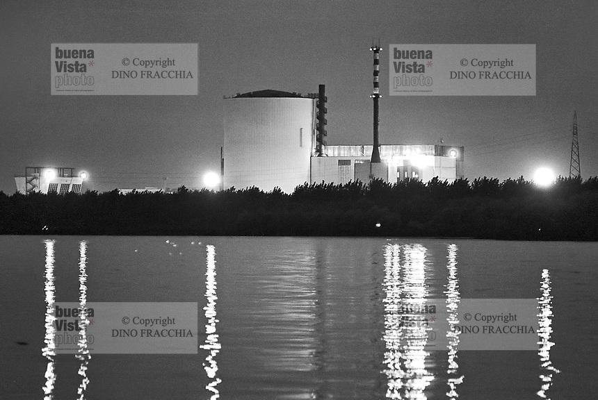 - Caorso  nuclear power station  (1978)....- centrale nucleare di Caorso (1978)