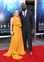 "11 April 2019 - Westwood, California - Mike Colter. ""Breakthrough"" Los Angeles Premiere held at Regency Village Theater. Photo Credit: Birdie Thompson/AdMedia"