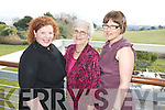 Susan, Eileen and Julie Sugrue, Ballinskelligs at the Kerry Fashion Weekend Fashion Awards Lunch at the Aghadoe Heights Hotel, Killarney on Sunday.