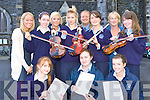 Preparing for concert to raise funds for Castleisland Presentation secondary school to be held in St Stephen and John church Castleisland on 13 September are front row l-r: Mary O'Connor, Bridget O'Shea, Maeve O'Connor. Back row: Joanne Casey, Eilish Lynch, Sinead Dennehy, Cliona O'Connor, Padraig Kelleher, Roisin O'Connor, Monica Murphy and Niamh Tangney