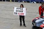 LEENA GADE (GBR) RACE ENGINEER AUDI R18 E TRON QUATTRO WITH FAN CLUB