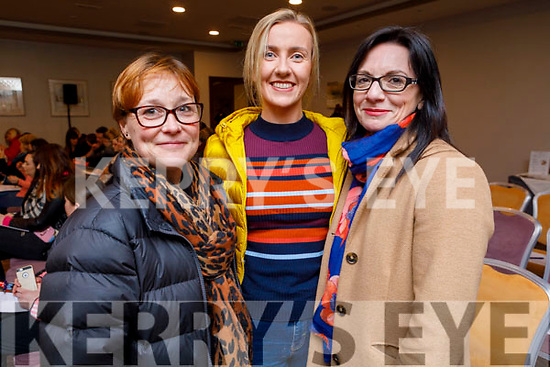 Kate Lawlor, Brid Prenderville and Aileen Foley from Tralee attending the Kinetic Nutrition Tír na nÓg Orphanage Fundraiser in the Rose Hotel on Thursday night.