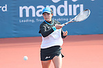 Riko Hayashida (JPN), <br /> AUGUST 27, 2018 - Soft Tennis : <br /> Training session<br /> at Jakabaring Sport Center Tennis Courts <br /> during the 2018 Jakarta Palembang Asian Games <br /> in Palembang, Indonesia. <br /> (Photo by Yohei Osada/AFLO SPORT)