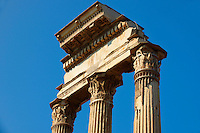 The Temple of Castor and Pollux, The Forum Rome