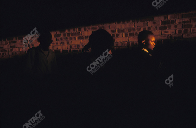 Government office workers on their way home from work. Gaborone, Botswana, September 2003