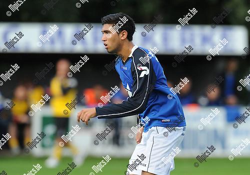 2011-07-27 / Voetbal / seizoen 2011-2012 / KF Mariekerke / Belhaj Badreddine..Foto: mpics