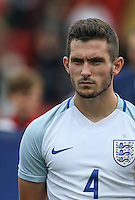Lewis Cook (AFC Bournemouth) of England during the International match between England U20 and Brazil U20 at the Aggborough Stadium, Kidderminster, England on 4 September 2016. Photo by Andy Rowland / PRiME Media Images.