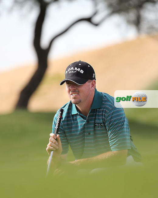 02 FEB 13 Robert Garrigus during Saturday's Third Round of The Waste Management Phoenix Open at The TPC of Scottsdale in Scottsdale, Arizona. (photo:  kenneth e.dennis / kendennisphoto.com)