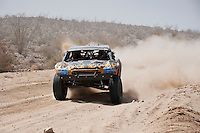Jesse James trophy truck near mile 90, 2011 San Felipe Baja 250.  finished in 8th place