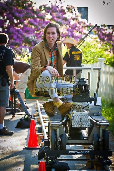 Director Wes Anderson.on the set of Moonrise Kingdom.*Filmstill - Editorial Use Only*.CAP/FB.Supplied by Capital Pictures.
