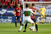 Roberto Torres (midfield; CA Osasuna) during the Spanish <br /> la League soccer match between CA Osasuna and Elche CF at Sadar stadium, in Pamplona, Spain, on Saturday, <br /> agost 26, 2018.