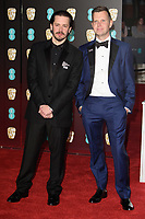 Edgar Wright arriving for the BAFTA Film Awards 2018 at the Royal Albert Hall, London, UK. <br /> 18 February  2018<br /> Picture: Steve Vas/Featureflash/SilverHub 0208 004 5359 sales@silverhubmedia.com