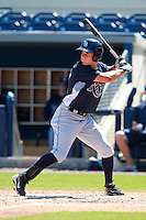 Tampa Bay Rays minor league outfielder Kevin Kiermaier during an Instructional League game vs. the Minnesota Twins at Charlotte Sports Park in Port Charlotte, Florida;  October 5, 2010.  Photo By Mike Janes/Four Seam Images