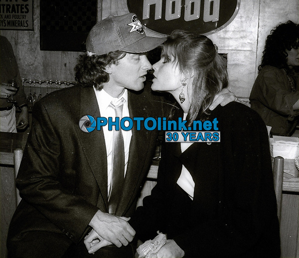 Stephen Crisman and Mariel Hemingway 1983<br /> Photo By John Barrett/PHOTOlink