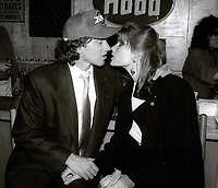 Stephen Crisman and Mariel Hemingway 1983<br /> Photo By John Barrett/PHOTOlink